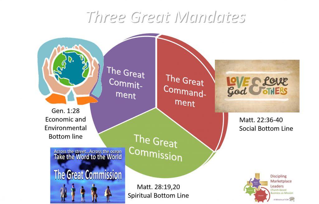 3 great mandates